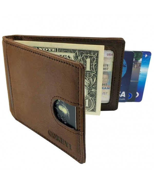 COREYI Mens Wallets RFID Blocking