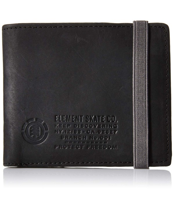 Element Endure Bi Fold Wallet Black