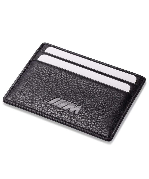 Slim Wallet Black Credit Slots