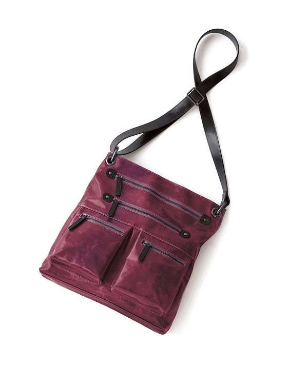 Shiraleah Harper Cross Body Daypack Berry