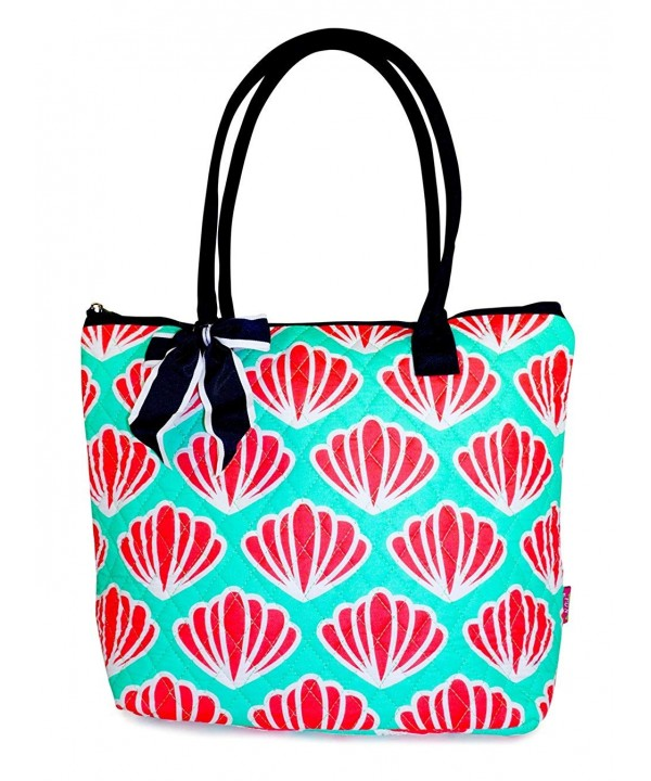 NGIL Sea Shell Quilted Tote