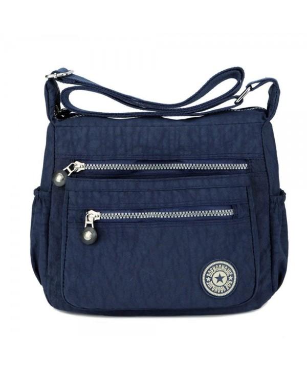 Cross body Pockets Lightweight Shoulder Handbags