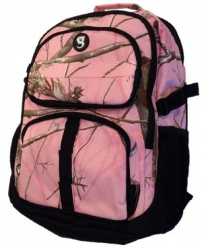 Geckobrands Realtree Camo Compartment Backpack