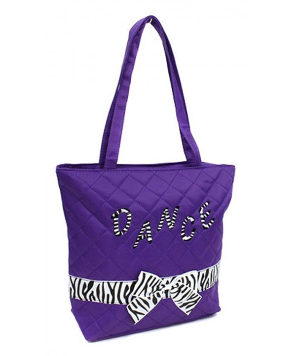 Girls Dance Zebra Print PURPLE