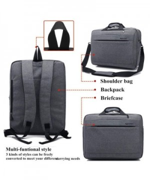 Business Messenger Multi Compartment Briefcase Computers