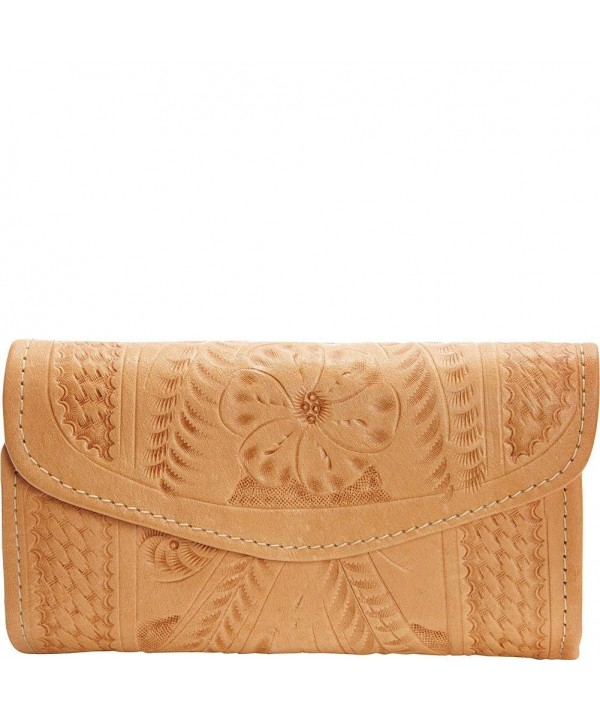 Ropin West Checkbook Wallet Natural