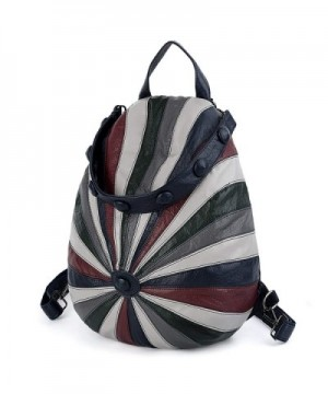 UTO Backpack Anti Theft Rucksack Multicolor