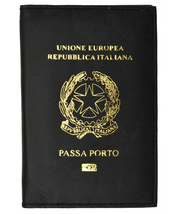 Passport Genuine Leather Imprint Passaporto