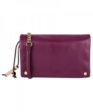 Dot Dash Burgundy Crossbody Shoulder