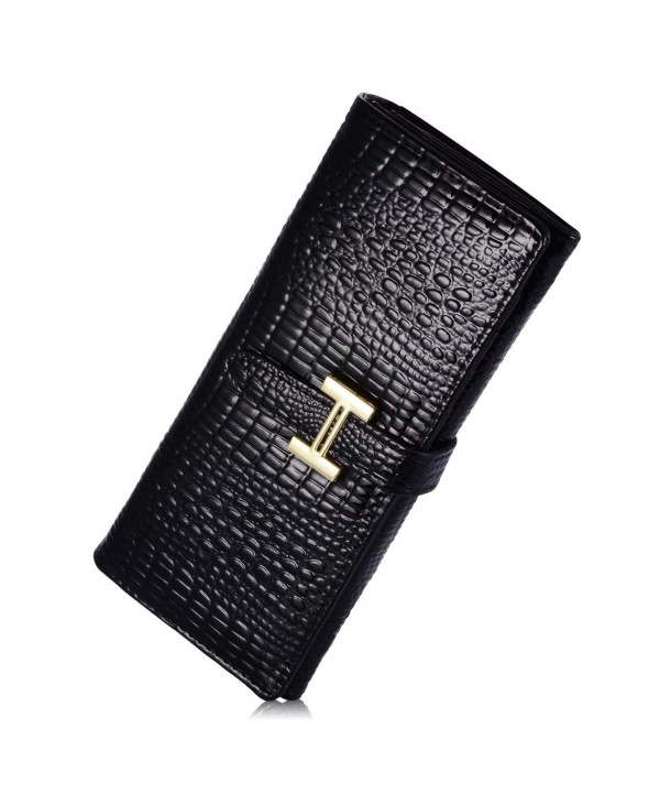 Womens Leather Credit Holder Wallet
