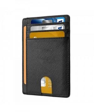 Pocket Wallet Minimalist Genuine Leather