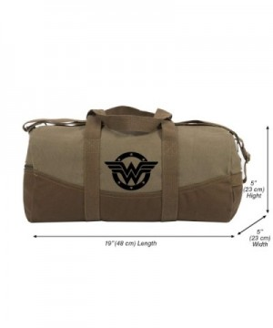 Wonder Woman Canvas Duffel Detachable