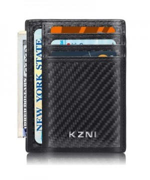 KZNI Pocket Minimalist Wallet Credit