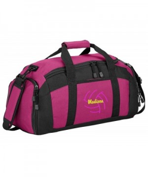 Personalized Volleyball Sports Duffel Tropical