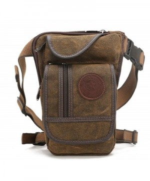 Shubb Canvas Tactical Fanny coffee