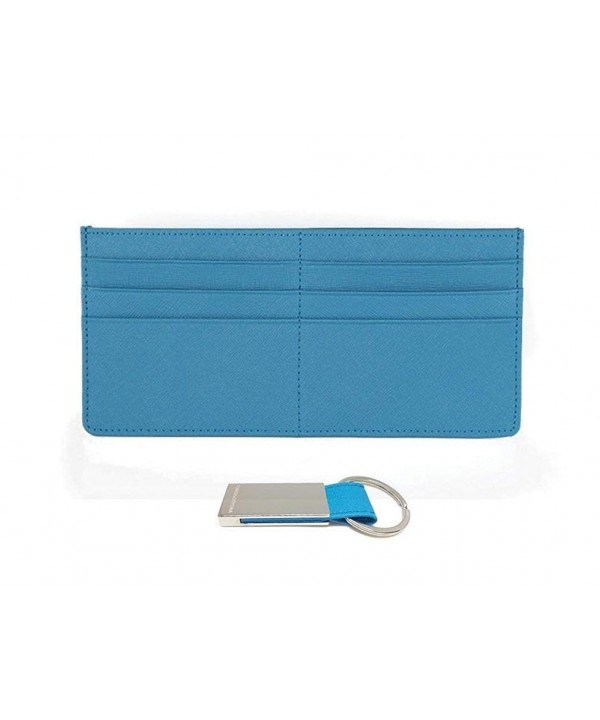 Leather Wallet Zipper Pocket Clutch