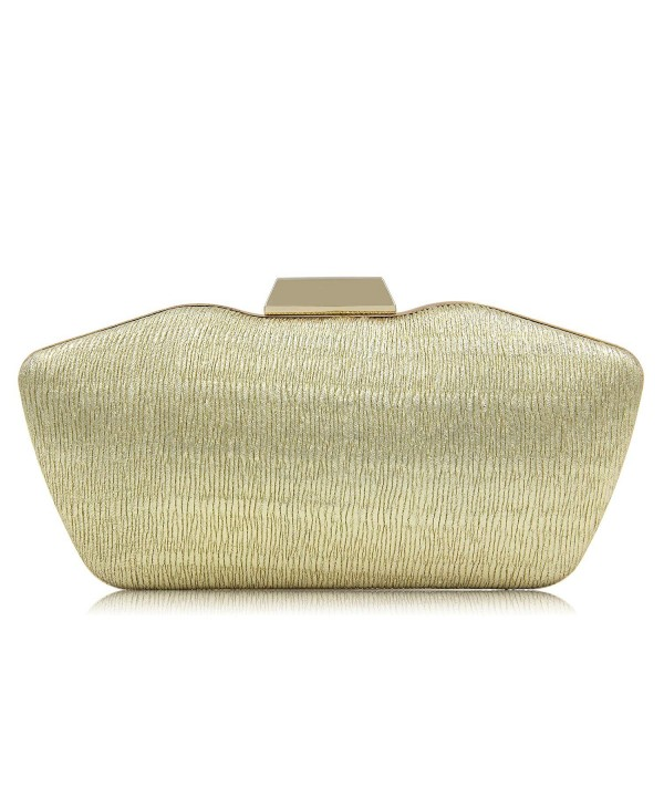 Pleated Evening Clutches Handbags Shoulder