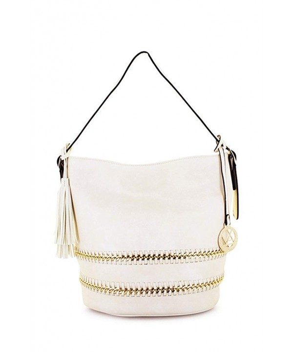 Lorelai Braided Fringe Messenger Handbag