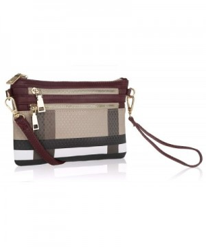 Wristlet Crossbody MKF Collection Signature