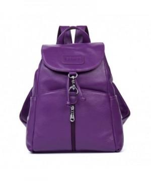 Cluci Leather Backpack Satchel Shoulder