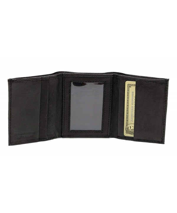 Ashlin leather Trifold Pockets Billfold