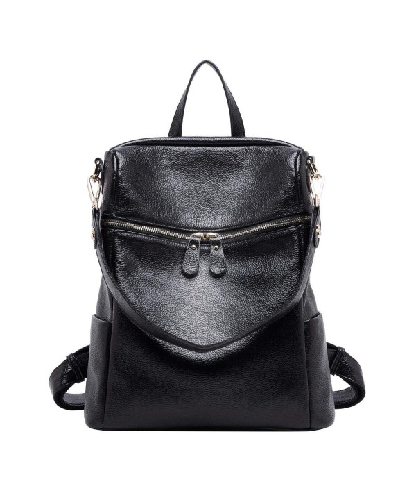 BOYATU Convertible Genuine Leather Backpack