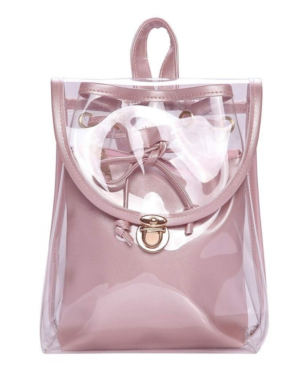 Jesdo Backpack Drawstring Transparent Security