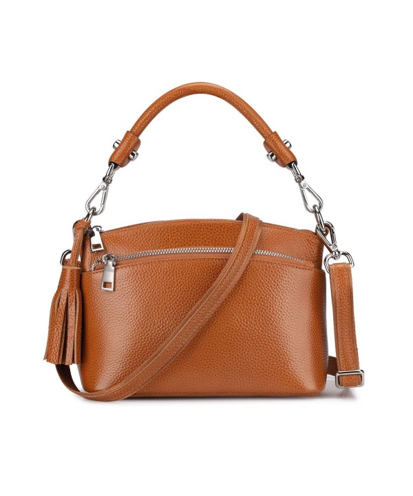 S ZONE Genuine Crossbody Top handle Shoulder