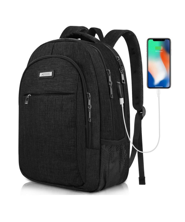 Backpack Waterproof Business Computer Charging