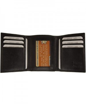 Wallets Genuine Leather Simple Trifold