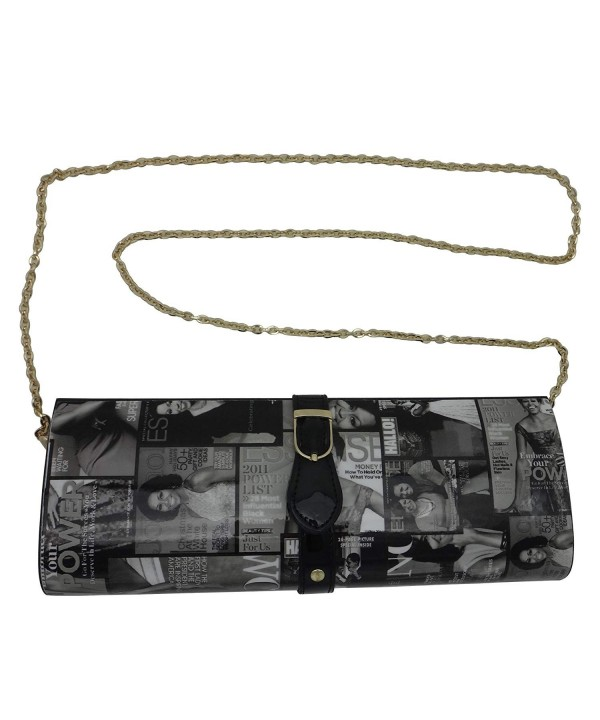 Michelle Magazine Buckle Clutch Wallet