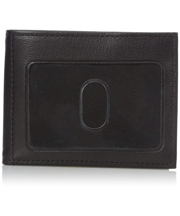Buxton Mountaineer Credit Billfold Black