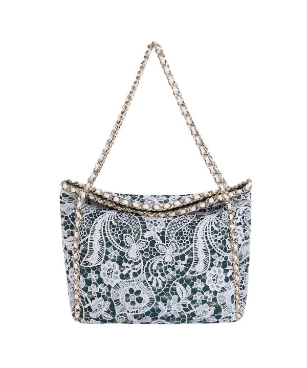 Premium Floral Shoulder Satchel Handbag