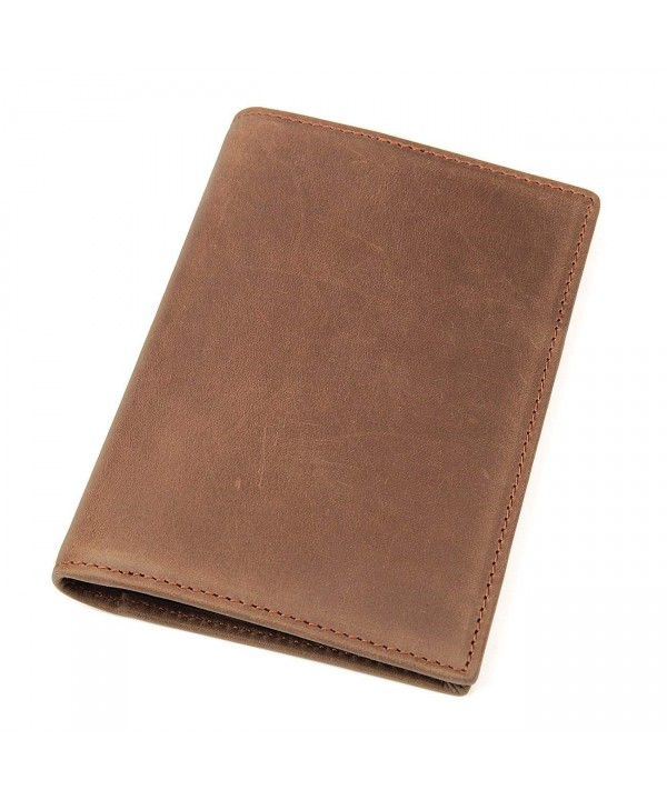 Polare Blocking Leather Passport Holder