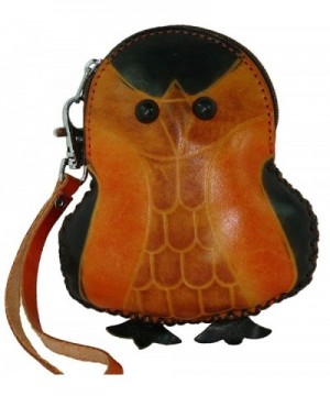 Lovely Penguin Pattern Leather Closure