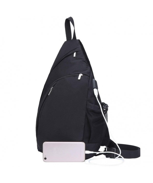 TECHQ Sling Bag Backpack External