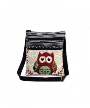 Embroidered Shoulder Postman Package Cross body