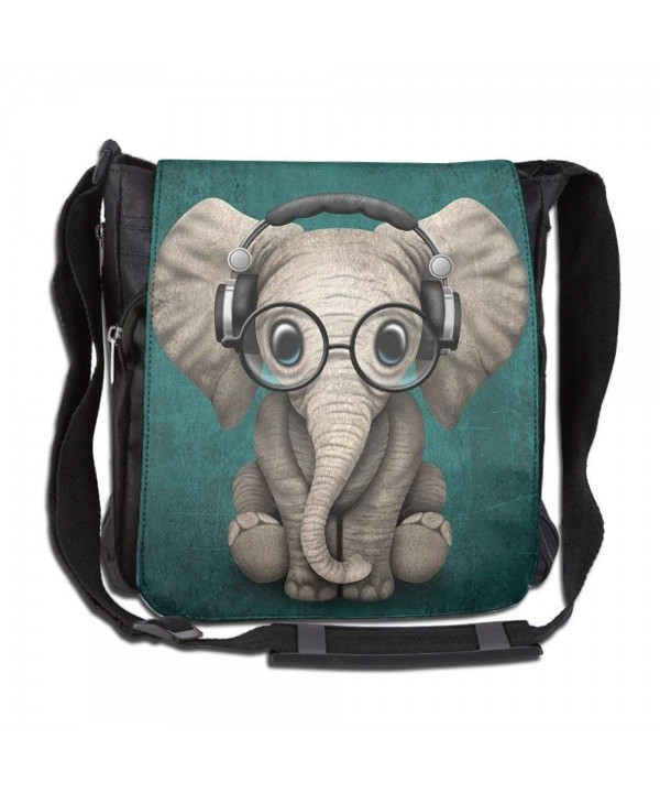 HUE FIUB Elephant Messenger Crossbody