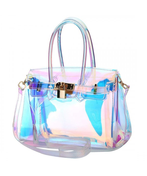 Hologram Shining Transparent Shoulder Crossbody