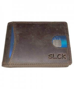 Bifold Wallet Compartment Drivers License