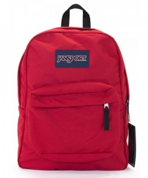 Jansport Superbreak Backpack Red Tape
