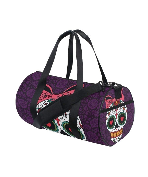 Naanle Mexican Purple Floral Sports