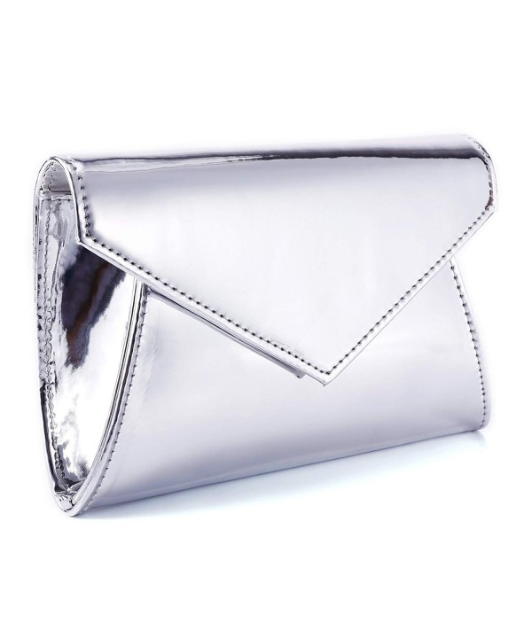 Fraulein38 High Gloss Leather Handbag Shoulder