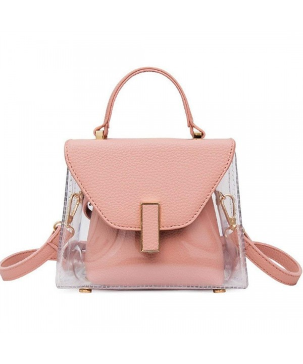 Mily Girls Transparent Shoulder Handbag