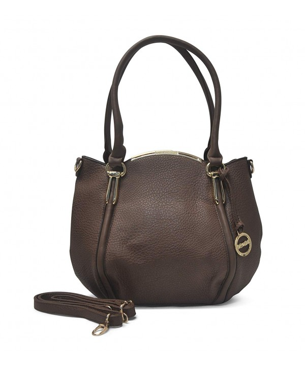 Sorrentino Sori Collection Satchel Brown