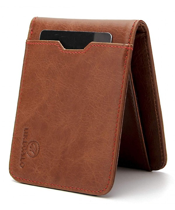 Uregalo Genuine Leather Bifold Minimalist
