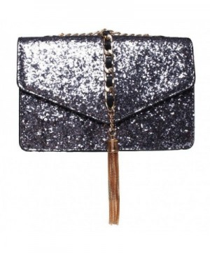 FASHIONROAD Evening Glitter Envelope Handbag
