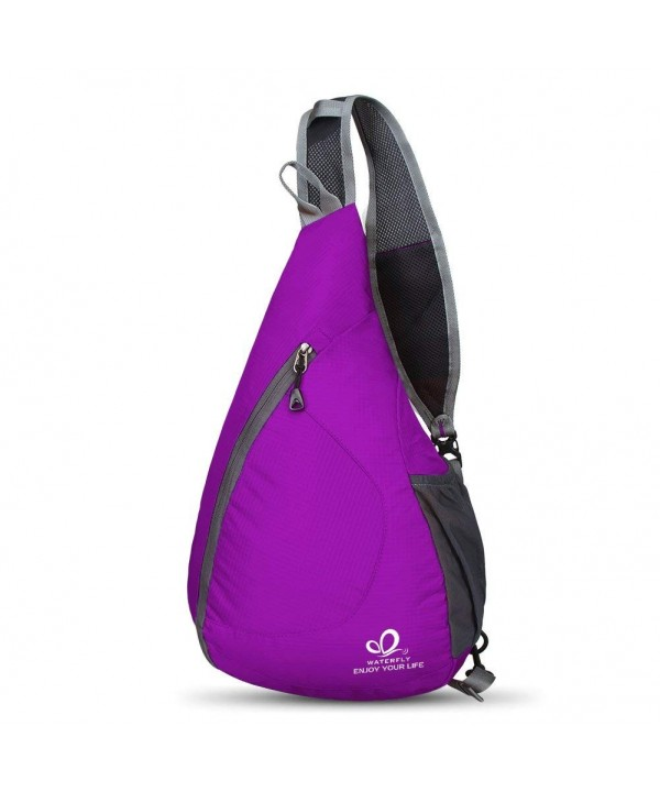 WATERFLY Packable Shoulder Backpack Crossbody