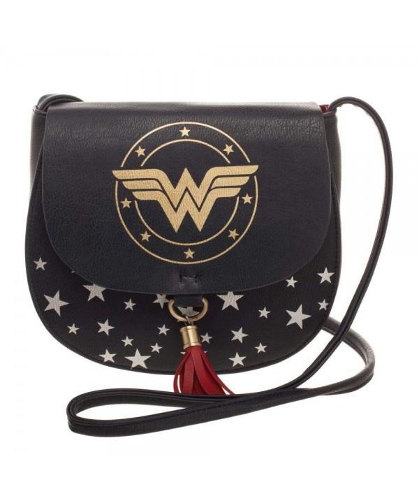 Wonder Woman Handbag Saddlebag Tassel