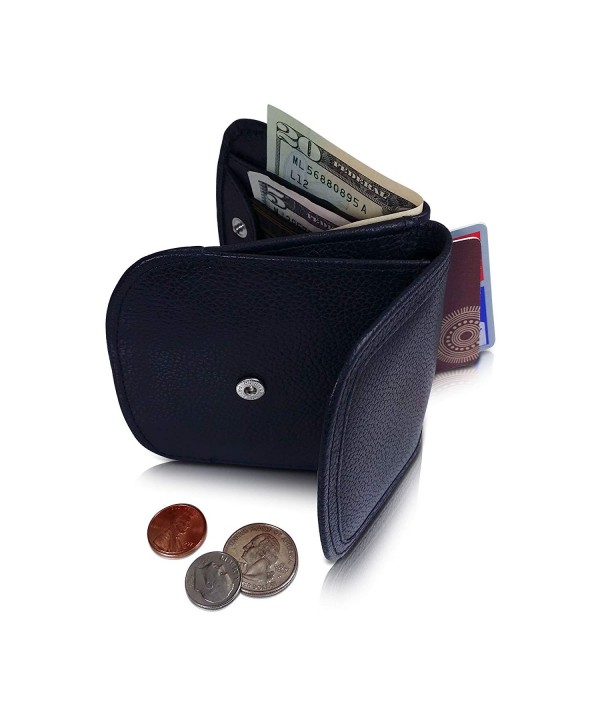 WALLET Folding LEATHER Minimalist Wallet